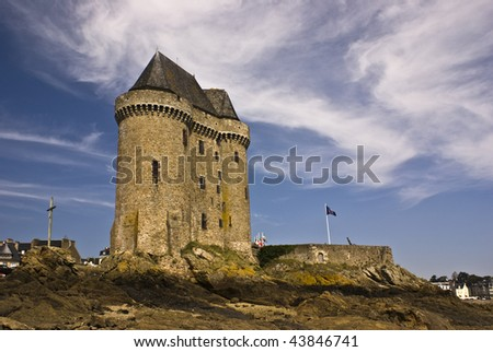 Tour Solidor, St Servan Brittany, France - stock photo
