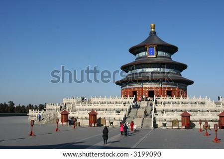 Tourist Attraction in Beijing - stock photo
