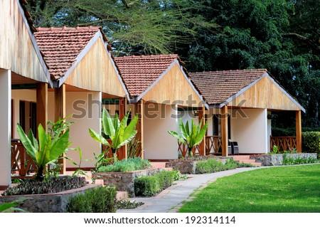 Tourist resort - stock photo