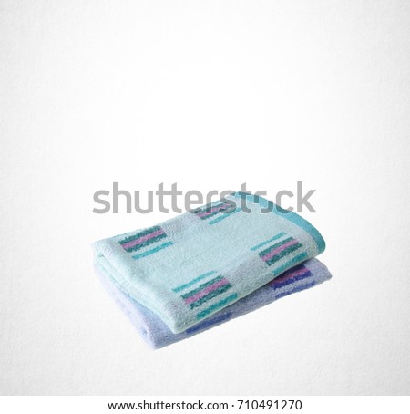 towel or kitchen towel on a background