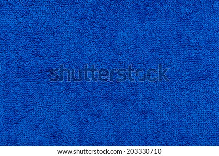 Towel- texture approximation of fragment material - stock photo