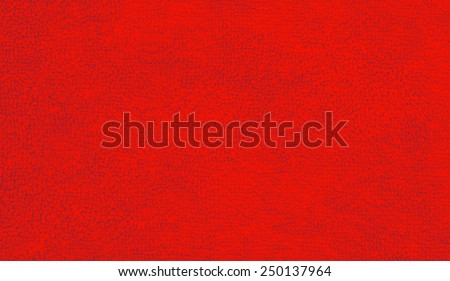 Towel texture background in red - stock photo