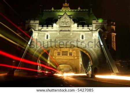 Tower Bridge London U.K. - stock photo