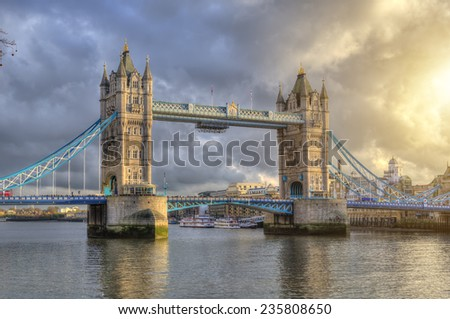 Tower Bridge ,London,UK