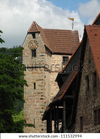 Tower in Eberbach, Germany
