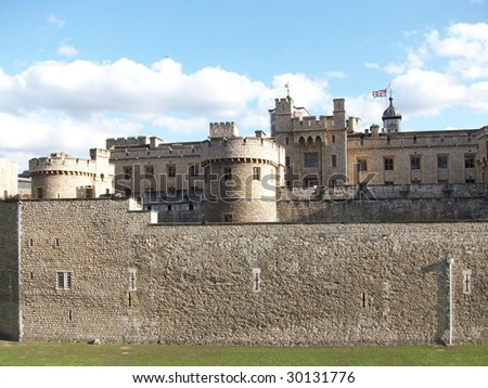 tower of london, London , England - stock photo