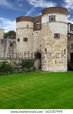 Tower of London. Tourist attraction