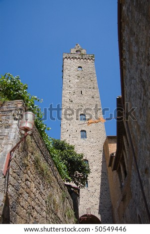 Tower of San gimignano