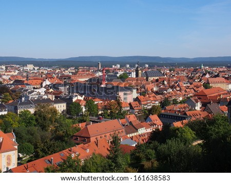 Town of Bamberg in Germany - A UNESCO World Heritage Site