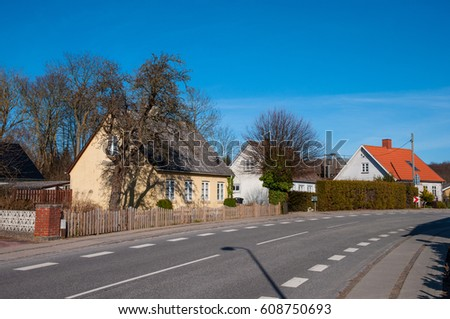 town of Nyraad in Denmark