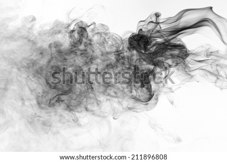 Toxic fumes - stock photo