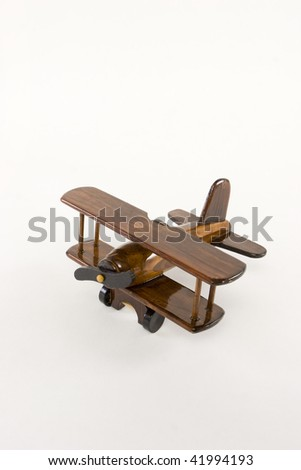 toy airplane - stock photo