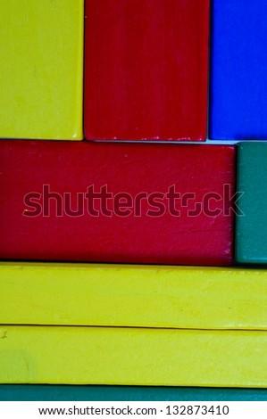 Toy Blocks - stock photo