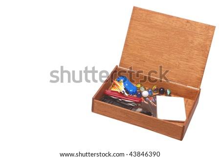 Toy Box - stock photo