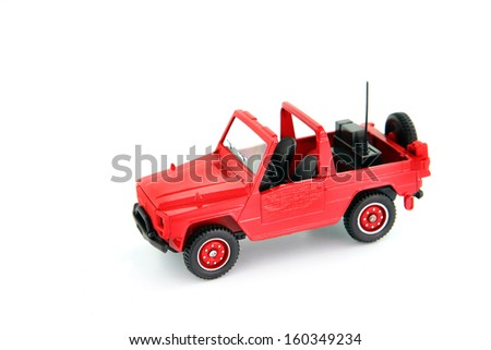 Toy car - stock photo