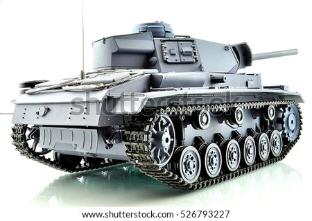 toy for children and adults, battle tank on radio