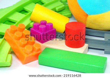 toy for fun and learning - stock photo