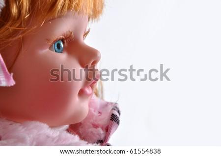 Toy girl - stock photo