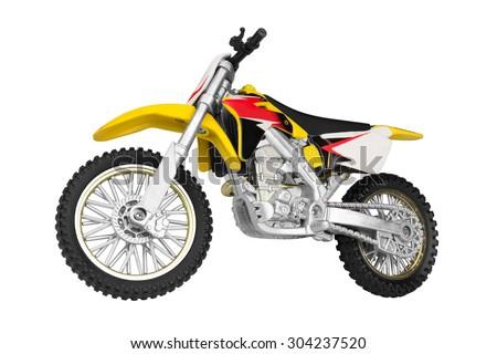 Toy motorbike  - stock photo