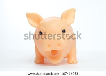Toy Pig - stock photo