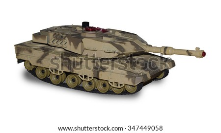 toy tank - stock photo