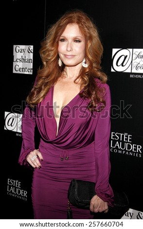 Tracey E. Bregman at the Los Angeles Gay & Lesbian Center Honors Rachel Zoe held at the Sunset Tower Hotel, California, United States on January 23, 2012.  - stock photo