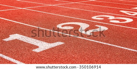 Track Field - stock photo