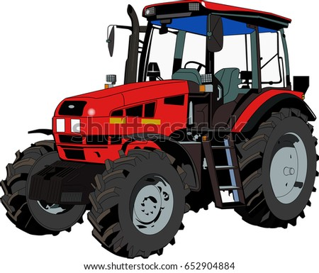 Tractor agricultural