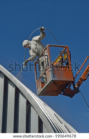 Spray Painting Stock Photos Images Amp Pictures Shutterstock