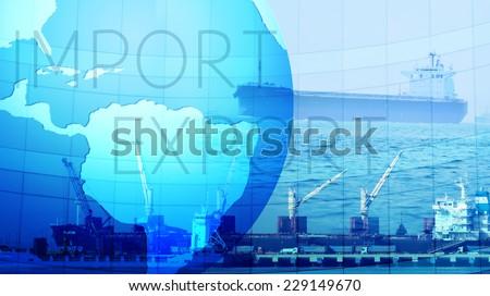 Trading and Logistics - stock photo