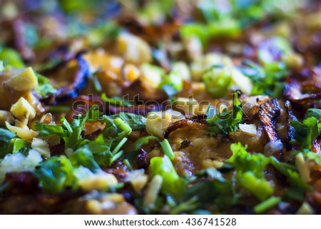 Tradition Home Made Halim also known as Khichada specially made for the Holy Month of Ramadan/Ramazan. - stock photo