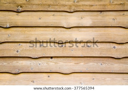 traditional aged cedar siding used on cottages makes a great wood backdrop - stock photo