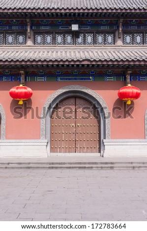 traditional chinese building,chongqing,china - stock photo