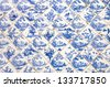 Traditional Chinese ceramic tiles - stock photo