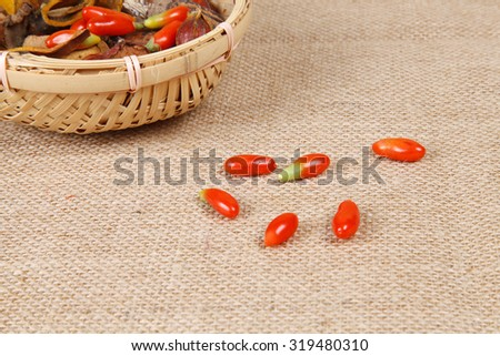 Traditional Chinese medicine, the curative effect is very good, close-up - stock photo