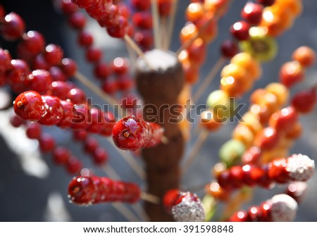 Traditional Chinese snacks  - stock photo