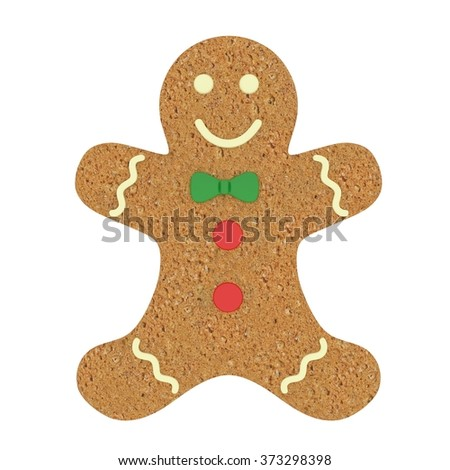 Traditional Christmas Gingerbread man