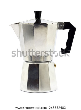 Traditional coffee maker