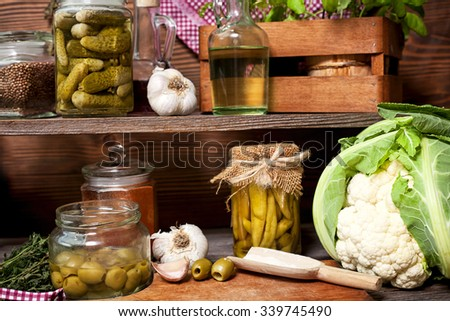 traditional cuisine - stock photo