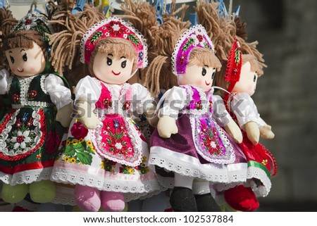 traditional dolls, budapest