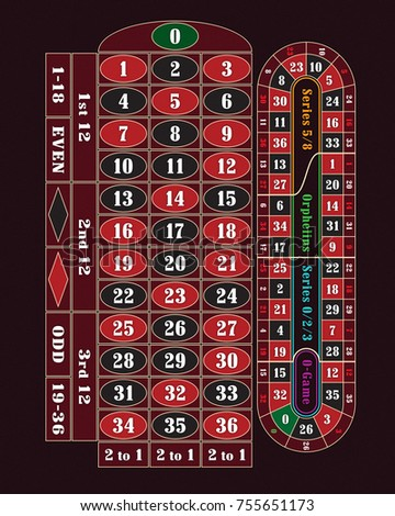 Europe roulette table