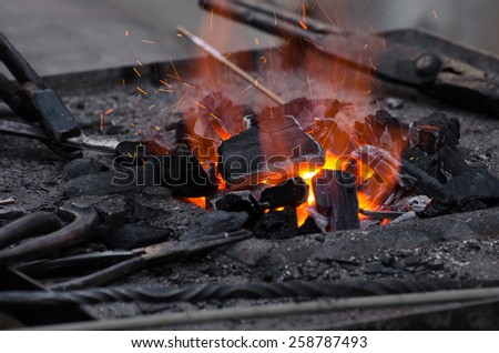 traditional forge