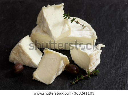 Traditional french cheese