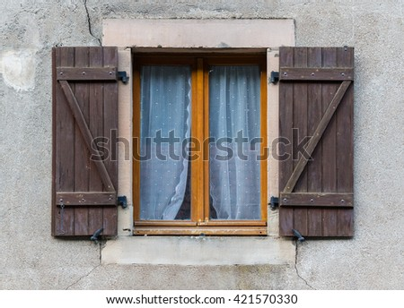 Traditional French window