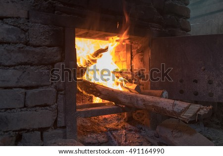 Traditional georgian home oven