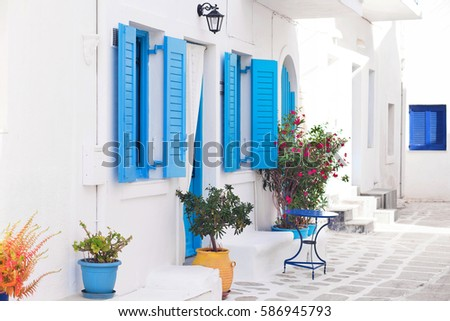 Traditional Greek Houses greek house stock images, royalty-free images & vectors | shutterstock