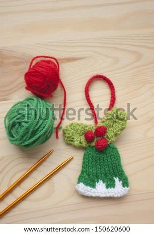 Ewapix 39 s portfolio on shutterstock for Knitted christmas bells