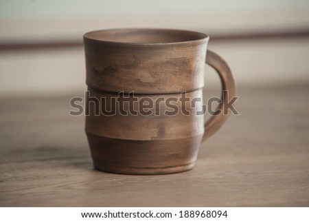Traditional handcrafted mug - perfect for tea or coffee