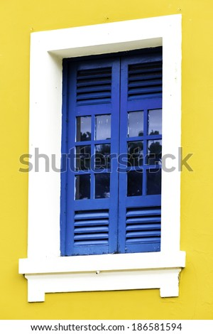 Traditional house in Manaus, Brazil - stock photo