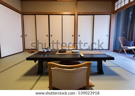 Traditional Japanese Dining Room japanese dining stock photos, royalty-free images & vectors
